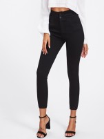 Black High-Rise Jean