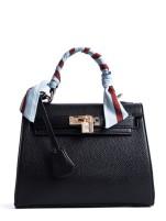 Metal Lock Shoulder Bag
