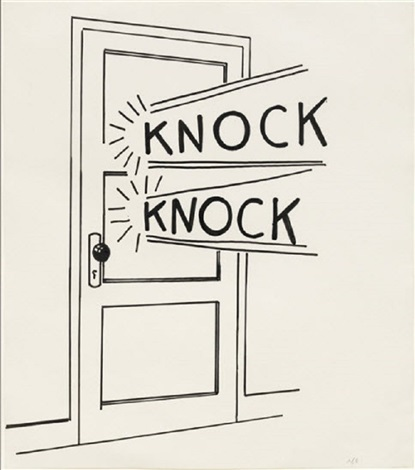 roy-lichtenstein-knock-knock