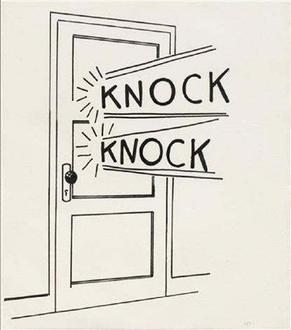 roy-lichtenstein-knock-knock